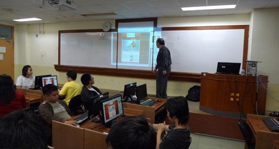 Babastudio.com mengadakan seminar Web Design di Binus University.