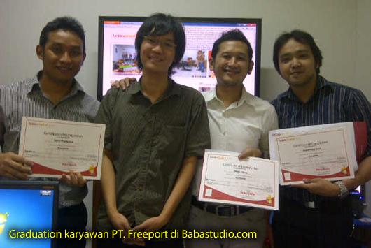 Graduation Karyawan PT. Freeport Di Babastudio.com