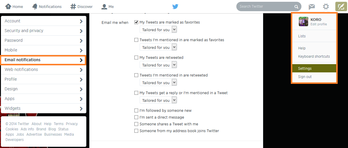 Twitter Mengirimkan Laporan perminggu buat Kamu!