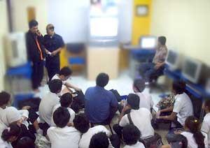 15 November 2007 - Kunjungan SMK Negeri 6 DKI ke Babastudio