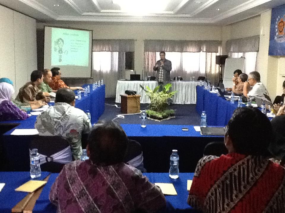 Workshop Penulisan untuk Situs Lembaga Administrasi Negara