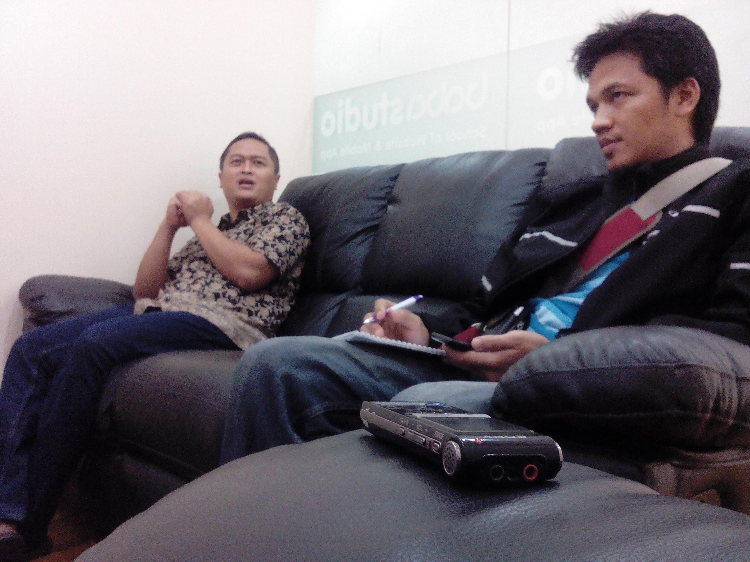 Interview Wartawan Koran Jakarta Tentang Bisnis Online