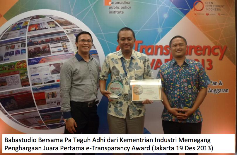 Alumni Kursus Web babastudio Dua tahun berturut turut menang Lomba web Bergengsi