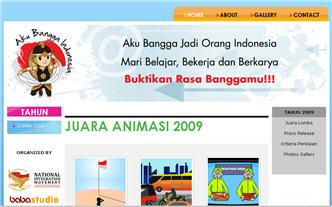 29 Agustus 2009 - Lomba Web dan Animasi