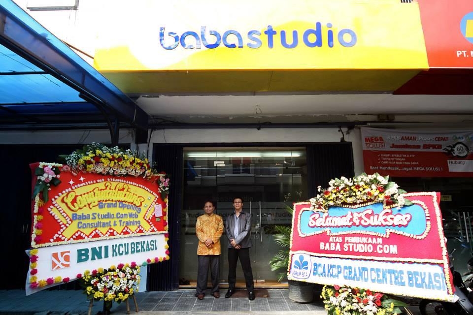 Pembukaan Cabang Baba Studio Bekasi 14 Juni 2013