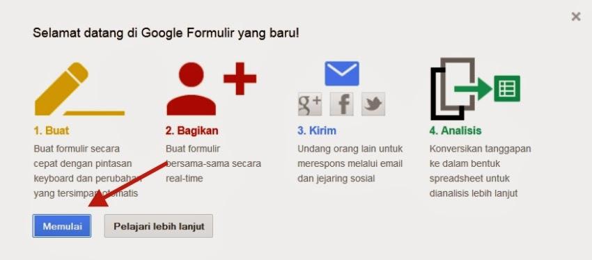 Inilah  Cara Membuat Form ulir Online di Google Drive