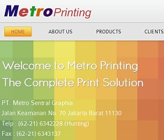 Company Profile Metroprinting
