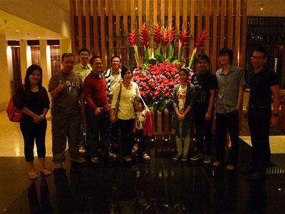 Staff Babastudio.com saat berlibur di Bandung