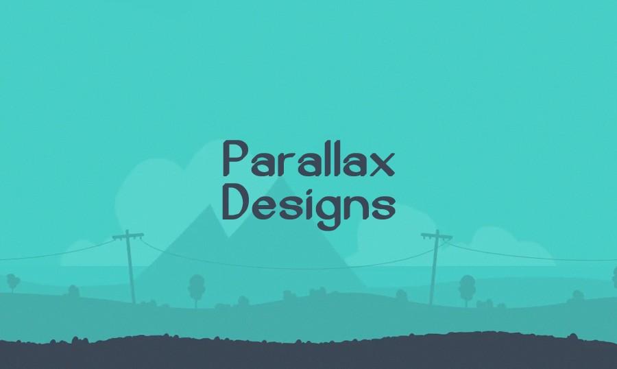 Contoh Parallax dengan Web Design