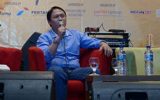 Babastudio.com Dalam Acara Enterpreneurship & Life Style Talkshow Di Universitas Prasetiya Mulya