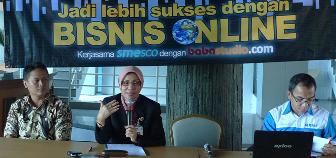 Seminar Bisnis Online Babastudio.com Di SMESCO
