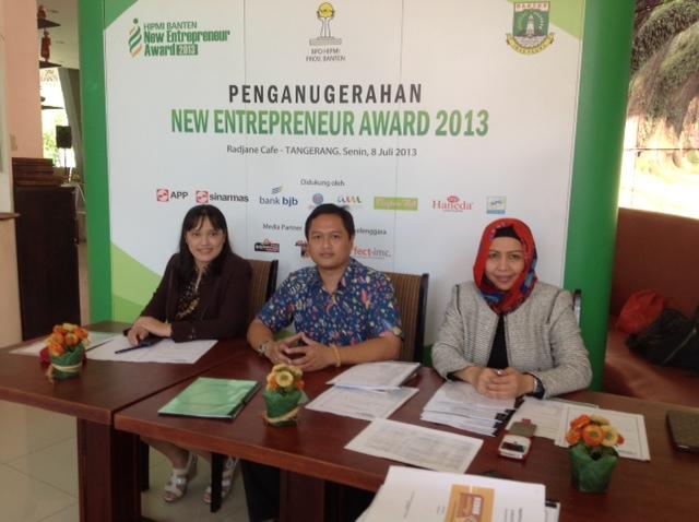 Baba Studio menjadi Juri HIPMI Banten