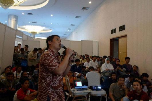 Seminar Bisnis Online Kreatif dengan Web & Animasi