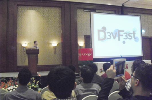 Babastudio.com di Seminar Google Devfest di Hotel J.W Marriott Jakarta