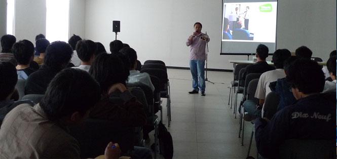 Babastudio mengadakan seminar di Universitas Multimedia Nusantara