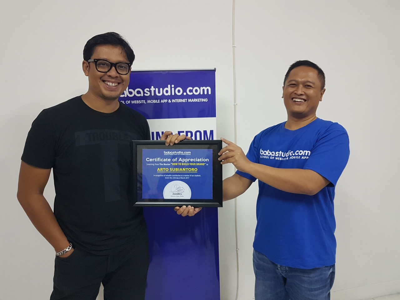 Workshop Bersama Arto Subiantoro  CEO Dan Founder PT Gambaran Brand